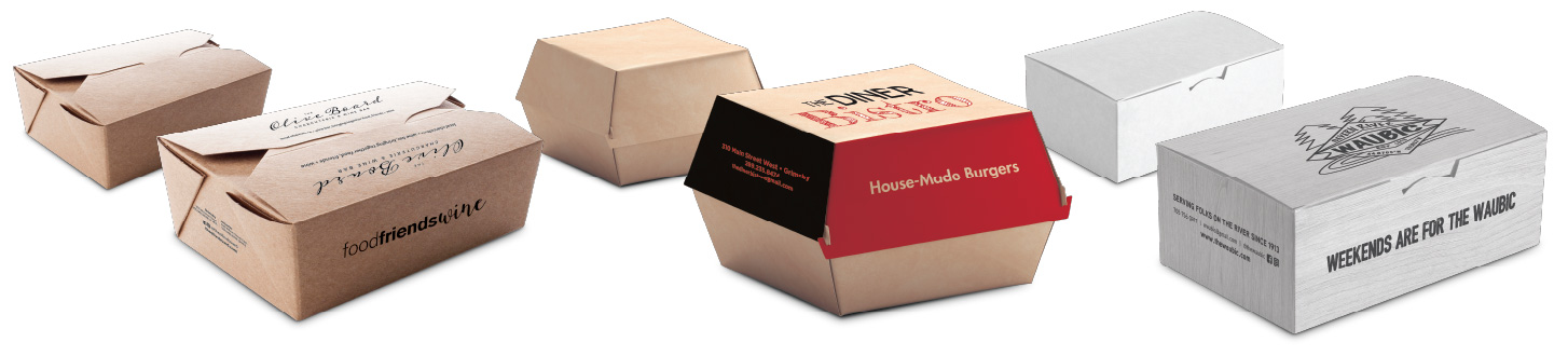 Various packaging solutions we offer